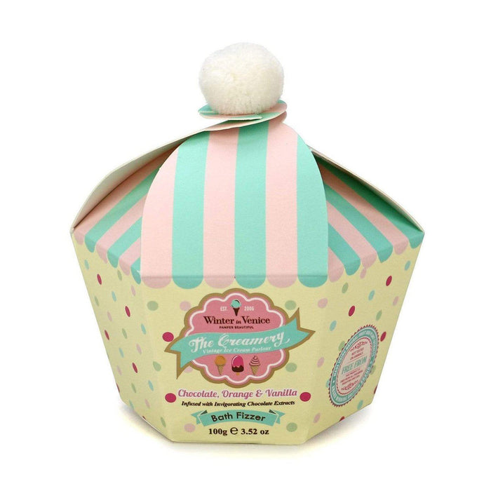 Buy Winter in Venice Bath Bomb Fizzer - The Creamery Pamper Beautiful Range - 100g from Steal A Deal