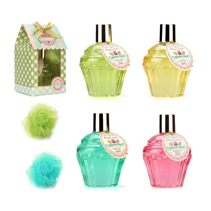 Buy Winter in Venice Shower Gift Set  - 180ml Luxury Gel & Bath Puff in Gift Box from Steal A Deal