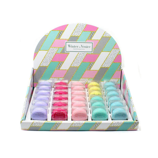 Buy Winter in Venice - Lip Balm Counter Top Display With 30 x 5.5g Macaron Lip Balms from Steal A Deal