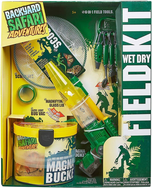 Backyard Safari Wet & Dry Field Exploration Kit Develops Skills - Science Nature