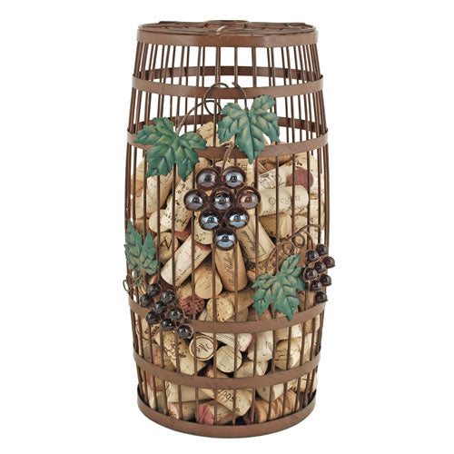 Barrel Wine Cork Holder - FriendsWhoDrink