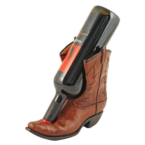 Cowboy Boot Wine Bottle Holder - FriendsWhoDrink