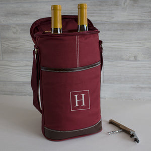 Personalized Wine Bottle Cooler - FriendsWhoDrink
