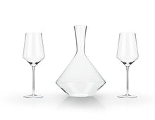 Load image into Gallery viewer, Elegant Angled Wine Decanter Set - FriendsWhoDrink