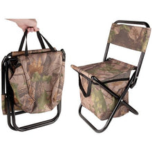 Load image into Gallery viewer, Camping Folding Chair Cooler - FriendsWhoDrink