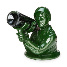 Load image into Gallery viewer, Army Man Wine Bottle Holder - FriendsWhoDrink