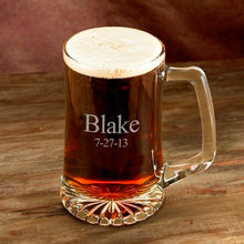 Load image into Gallery viewer, Personalized Glass Beer Mug - FriendsWhoDrink