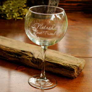 Personalized Red Wine Glass - FriendsWhoDrink