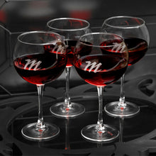 Load image into Gallery viewer, Personalized Red Wine Glasses Set - FriendsWhoDrink