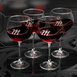 Personalized Red Wine Glasses Set - FriendsWhoDrink