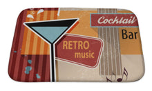 Load image into Gallery viewer, Retro Cocktail Bar Sign Bath Mat - FriendsWhoDrink