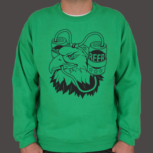 Beer Eagle Sweater (Mens) - FriendsWhoDrink