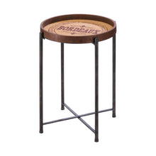 Load image into Gallery viewer, Bordeaux Wine Label Side Table - FriendsWhoDrink