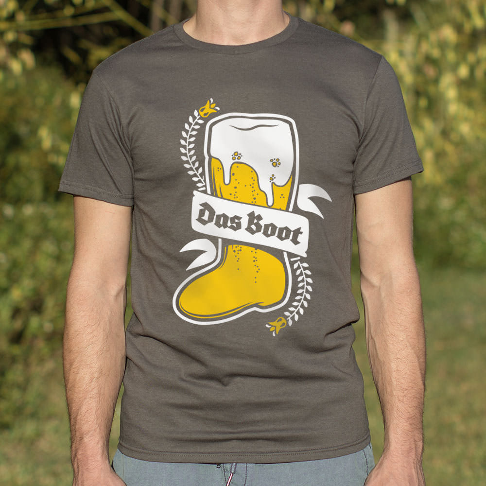 Das Boot T-Shirt (Mens) - FriendsWhoDrink