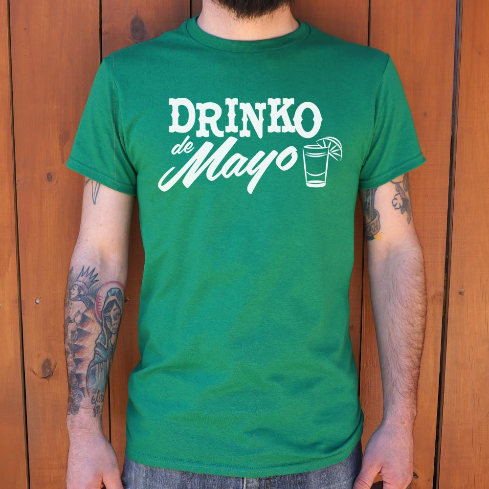 Drinko De Mayo T-Shirt (Mens) - FriendsWhoDrink