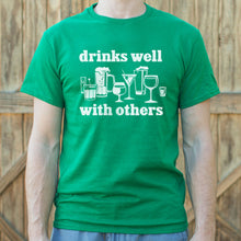 Load image into Gallery viewer, Drinks Well With Others T-Shirt (Mens) - FriendsWhoDrink