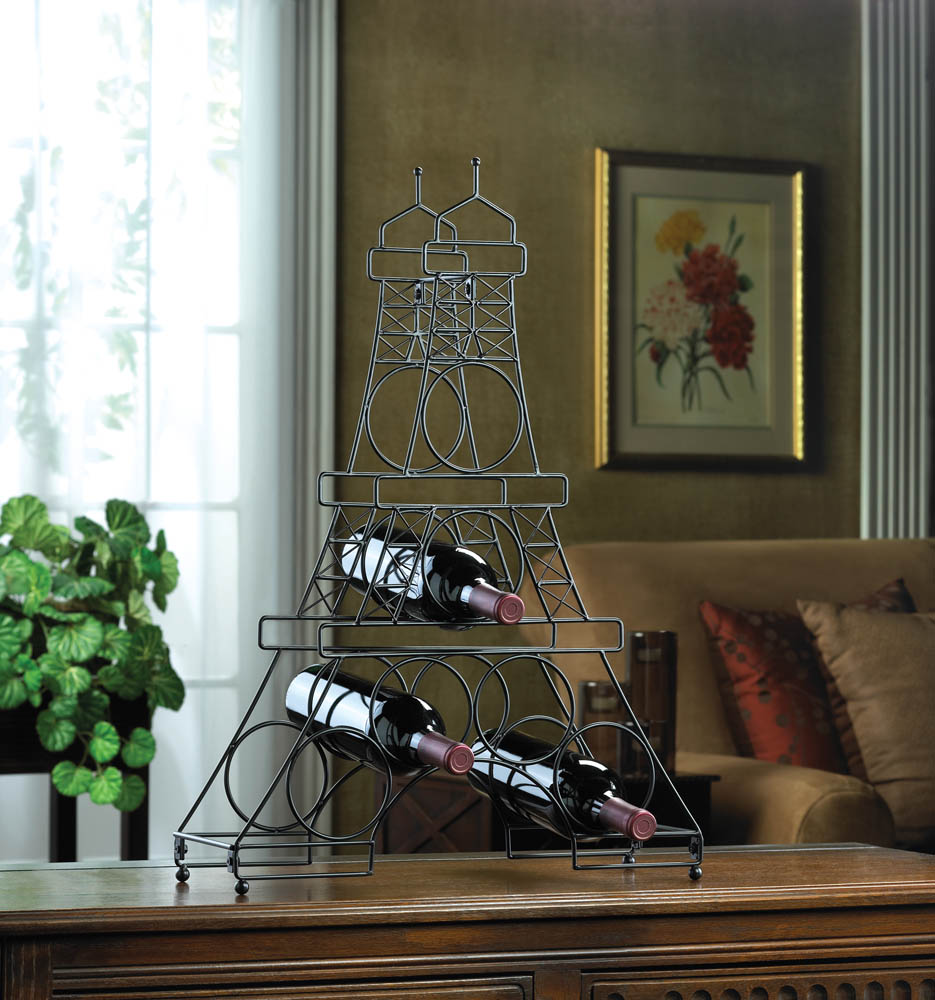 Eiffel Tower Wine Rack - FriendsWhoDrink