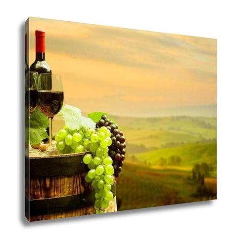 Tuscan Red Wine Painting - FriendsWhoDrink