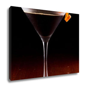Dark Martini Canvas Print - FriendsWhoDrink