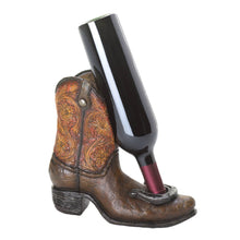 Load image into Gallery viewer, Western Cowboy Boot Wine Bottle Holder - FriendsWhoDrink