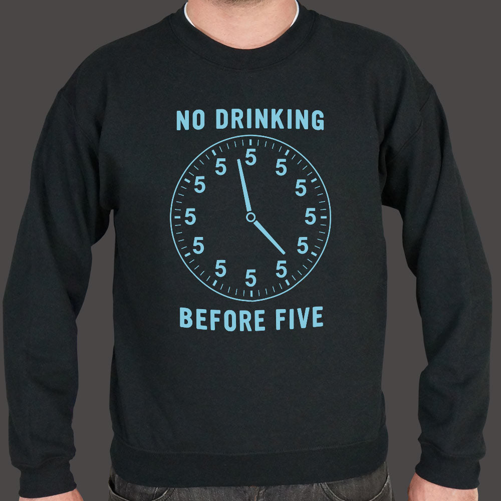 No Drinking Before Five Sweater (Mens) - FriendsWhoDrink