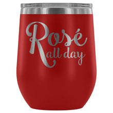 Load image into Gallery viewer, Rose All Day Stemless Wine Tumbler - FriendsWhoDrink