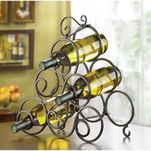 Elegant Table Top Wine Rack - FriendsWhoDrink