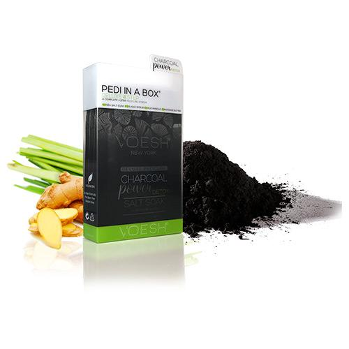 VOESH Pedi in a Box 4 Step - Charcoal Power