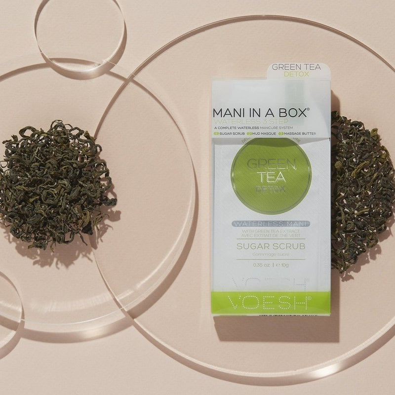 VOESH Mani in a Box 3 Step (Waterless) Green Tea