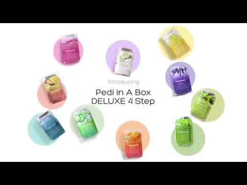 VOESH Pedi in a Box 4 Step - Jasmine Soothe