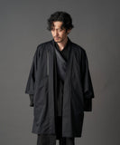 WAROBE / SOFT THREE LAYER HAORI TECH / BLACK