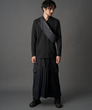WAROBE / SOFT THREE LAYER HAKAMA TECH / BLACK