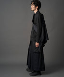 【PRE-ORDER】WAROBE / SOFT THREE LAYER HAKAMA TECH / BLACK