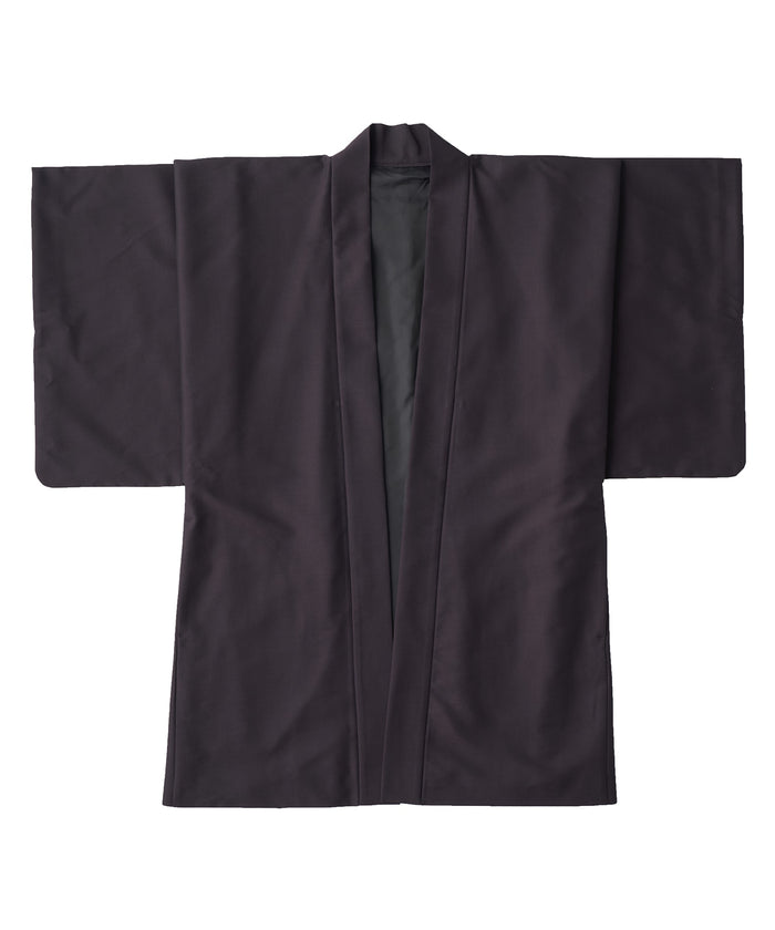 【PRE-ORDER】WAROBE / COTTON MOHAIR HAORI / DARK PURPLE