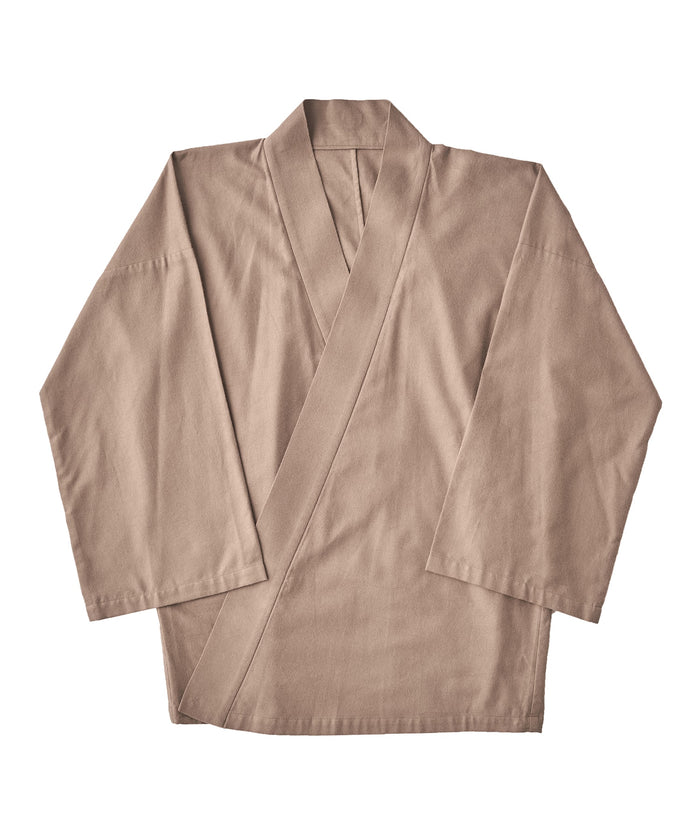 【PRE-ORDER】WAROBE / WA Y SHIRT ( WINTER ) / GRAY BEIGE