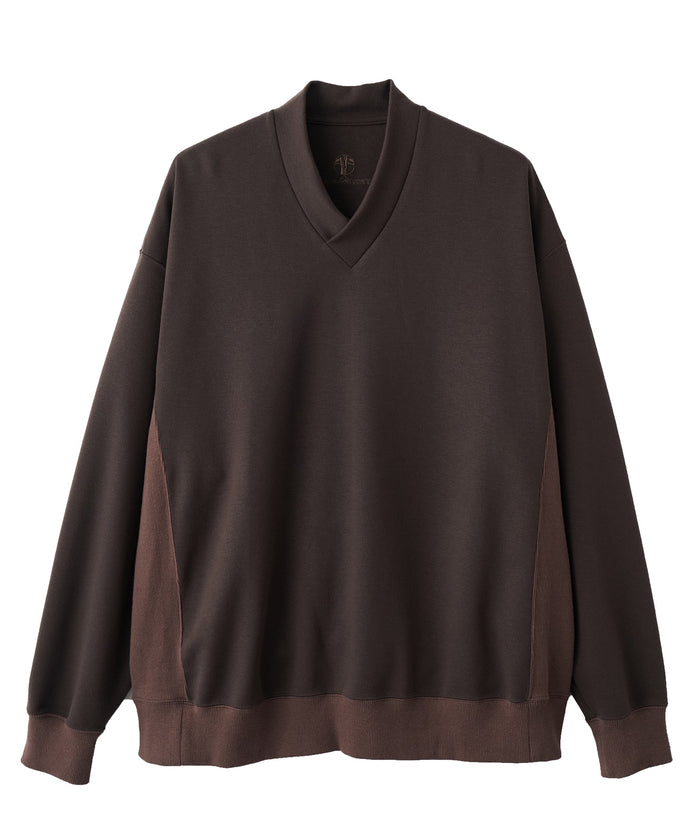 WAROBE / JUBAN WIDE SWEAT ( WINTER ) / DARK BROWN