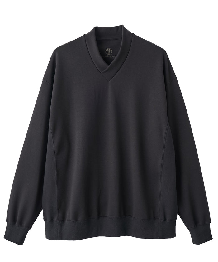 【PRE-ORDER】WAROBE / JUBAN WIDE SWEAT ( WINTER ) / BLACK