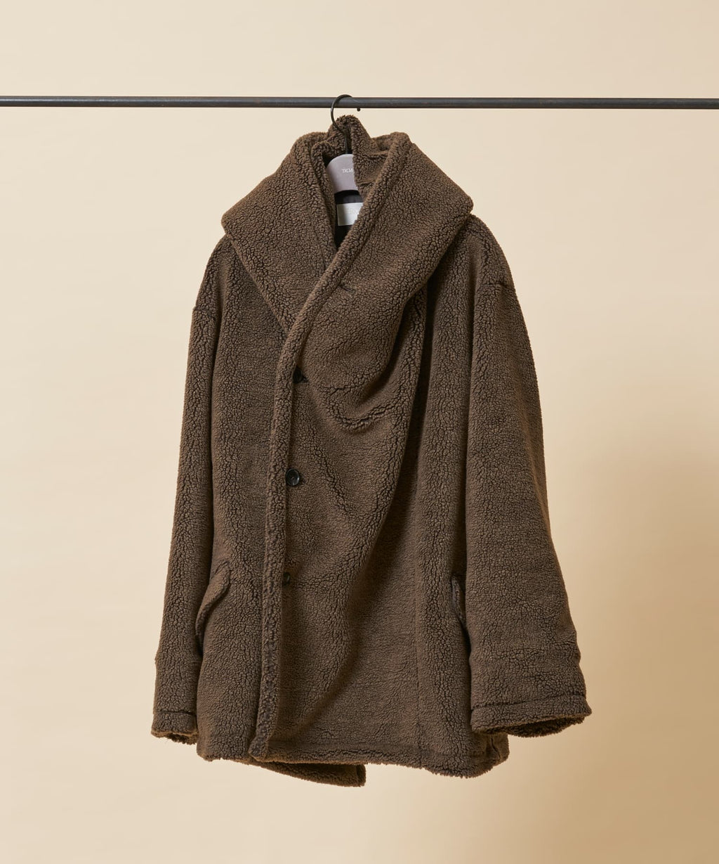 TROVE / BOA HOODED COAT