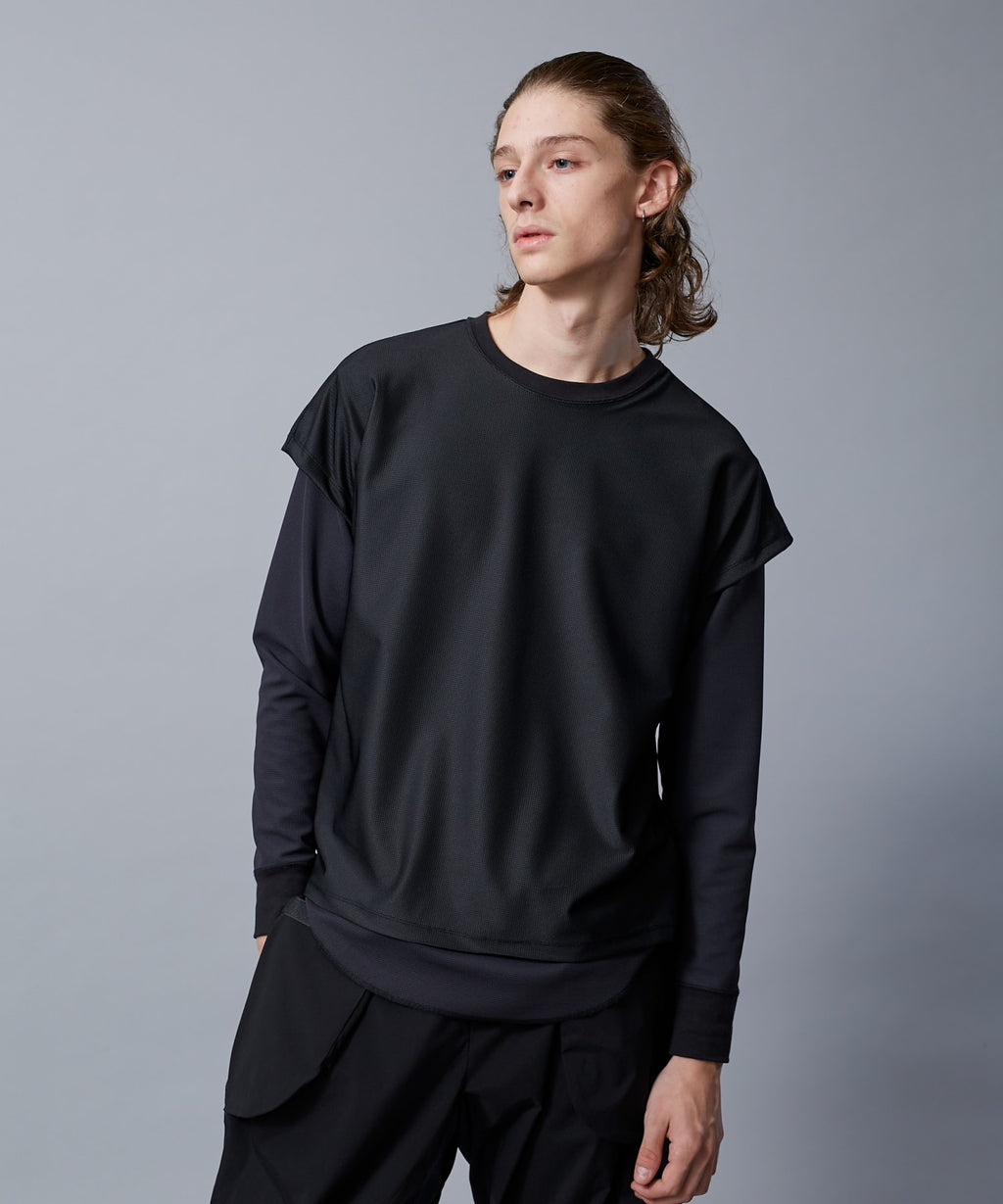 TROVE ACTIVE / LAYERED LONG SLEEVE / BLACK