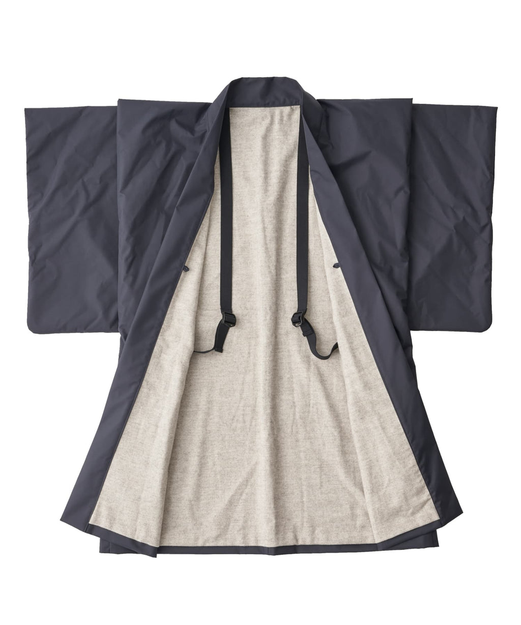 【PRE-ORDER】WAROBE / THREE LAYER HAORI TECH / BLACK
