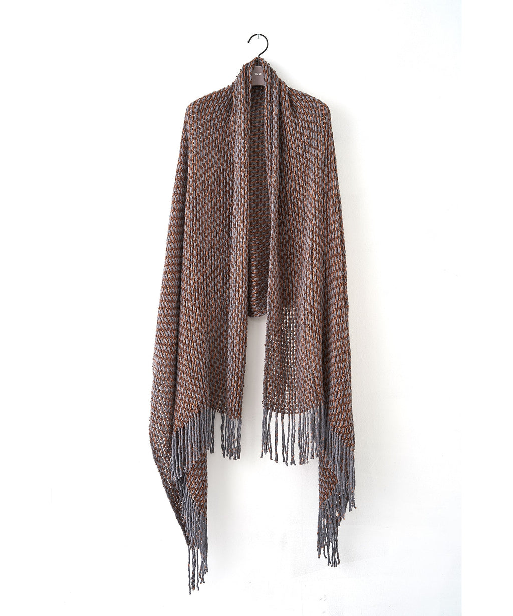 TROVE / MIX BLANKET / GRAY BEIGE