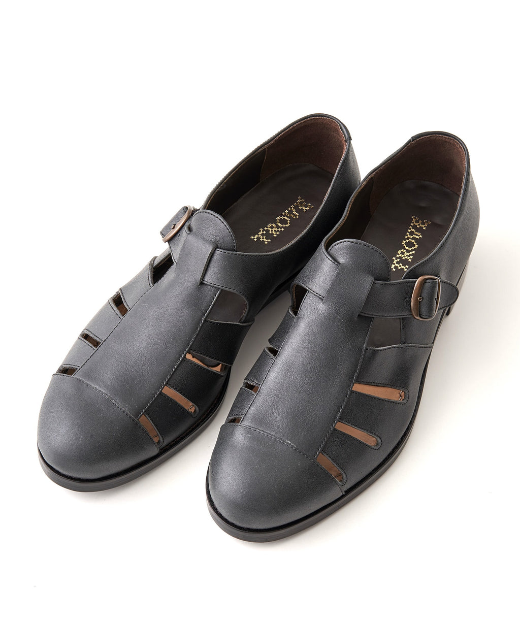 TROVE / LEATHER SHOES / BLACK
