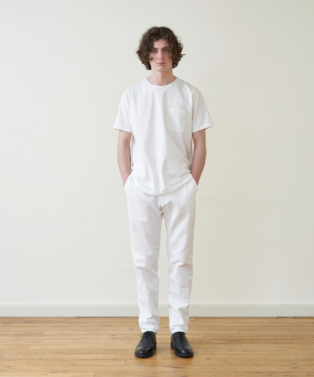 A.TAKA / POCKET TEE / WHITE