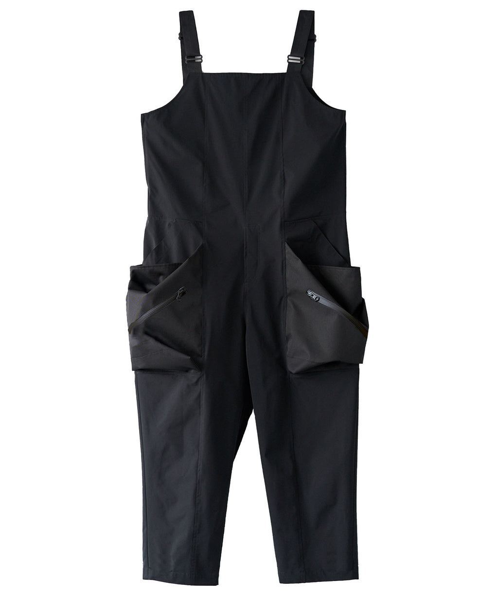 [PRE-ORDER] TROVE / BIG POCKET OVERALL ( TYPE : ACTIVE ) / BLACK