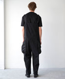 TROVE / BIG POCKET OVERALL ( TYPE : ACTIVE ) / BLACK