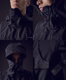 TROVERTEX / TVX-HOODED-01 / BLACK