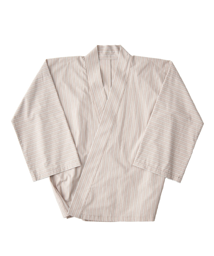 [PRE-ORDER] WAROBE / WA Y SHIRT / BROWN STRIPE