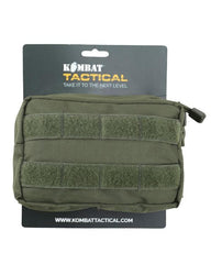 Small MOLLE Utility Pouch - Olive Green