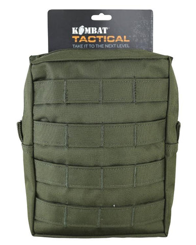 Large MOLLE Utility Pouch - Olive Green