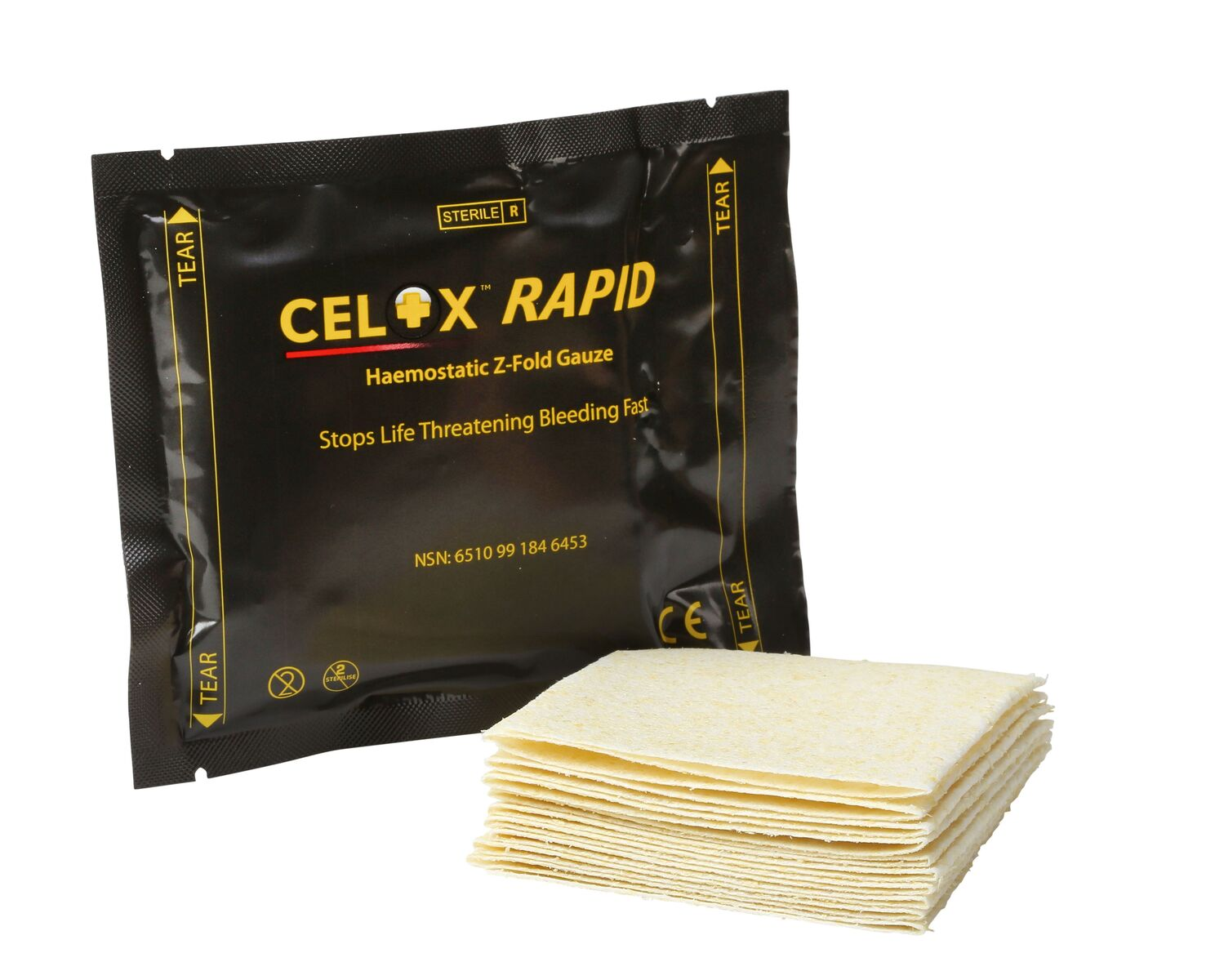 How to use Celox Rapid